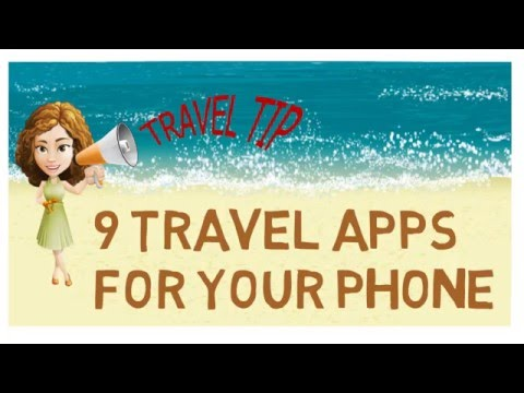 Travel Tip: Travel Apps for Planning Trip