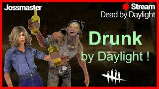 🔴DRUNK BY DAYLIGHT !! 🔴LETS HAVE SOME FUN AND TRY GET BACK TO RANK 1 !! GIVEAWAY TO!!;6