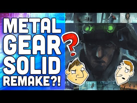 Metal Gear Solid Remake? - Hot Take