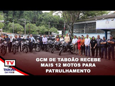 Mais 12 motos para GCM de Taboão da Serra