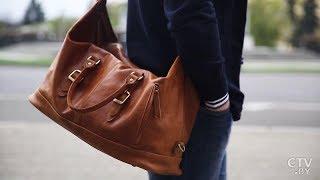 видео Мужские поясные сумки