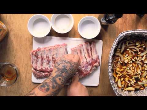 Guam Style BBQ Marinade   Spare Ribs