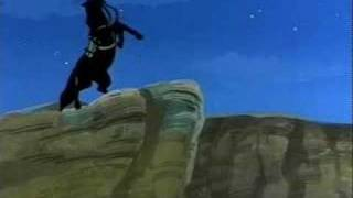 Zorro cartoon Filmation Diego becomes Zorro
