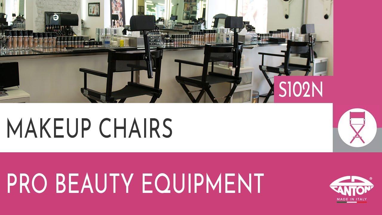 Cantoni Video Guide Makeup chair art S102N