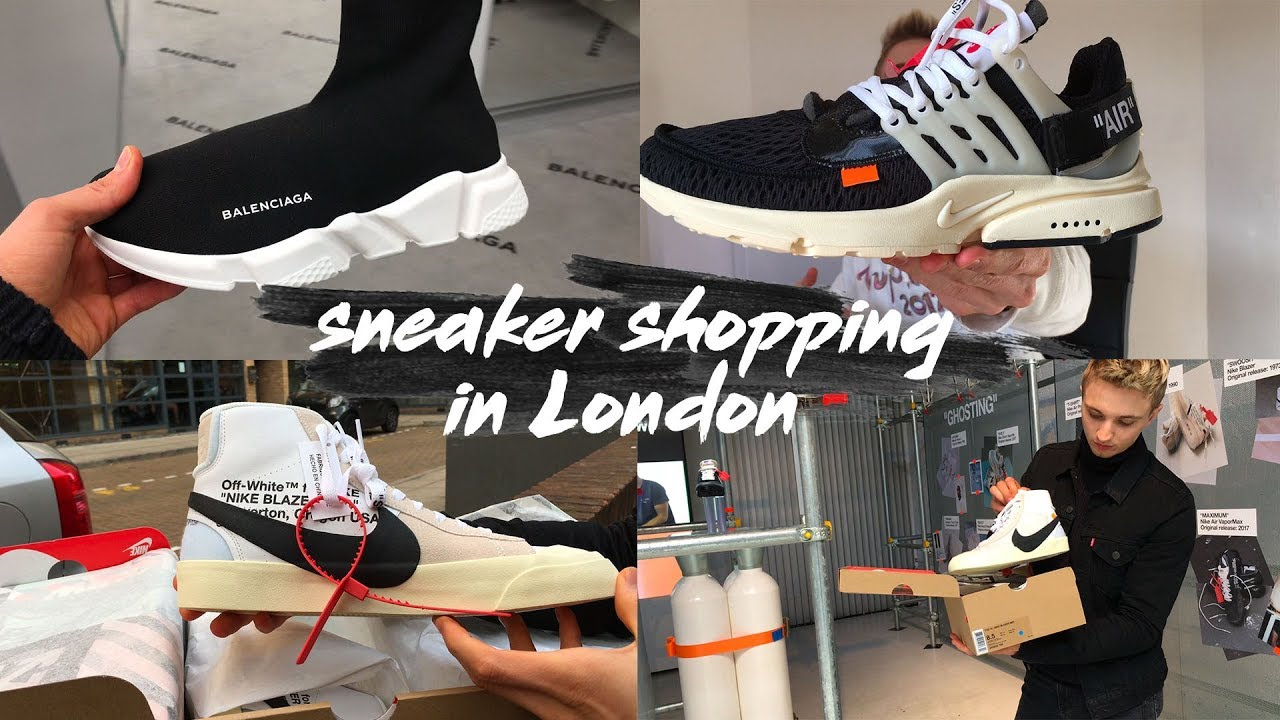IN LONDON // Off-White Nike