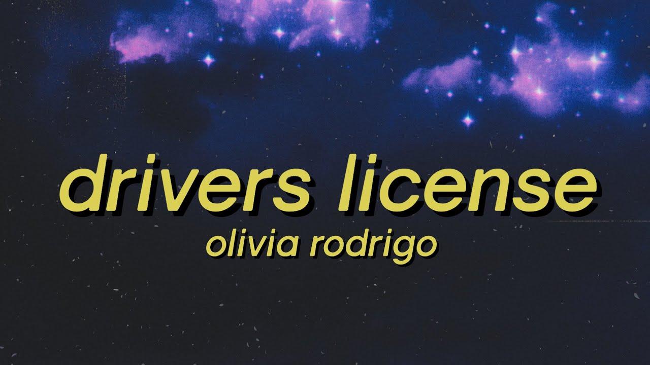 Olivia Rodrigo - drivers license (Lyrics) I know we weren't perfect but I've never felt this way