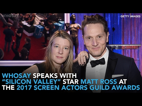 'Silicon Valley' Star Matt Ross Arrives at the 2017 Screen Actors Guild Awards  WHOSAY