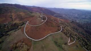 Vallée de l'Ariège Foix en Drone