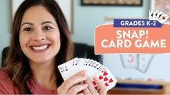 Number Sense Card Game for Grades K-2 | Susan's Sunday Spotlight