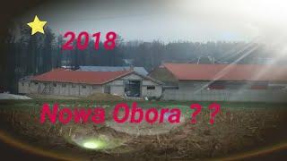 Nowa Obora na 60 sztuk krów !!   2017/18 silosów na kiszonkę i wylewka placu 720 m