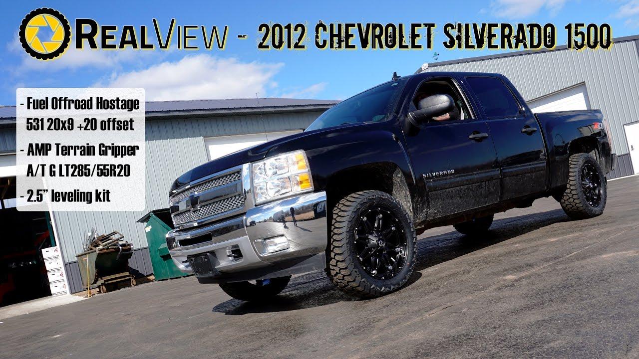 Pickup 2012 chevy pickup : RealView - Leveled 2012 Chevy Silverado 1500 w/ 20