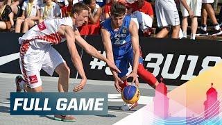 Poland v Philippines - Full Game - 2015 FIBA 3x3 U18 World Championships