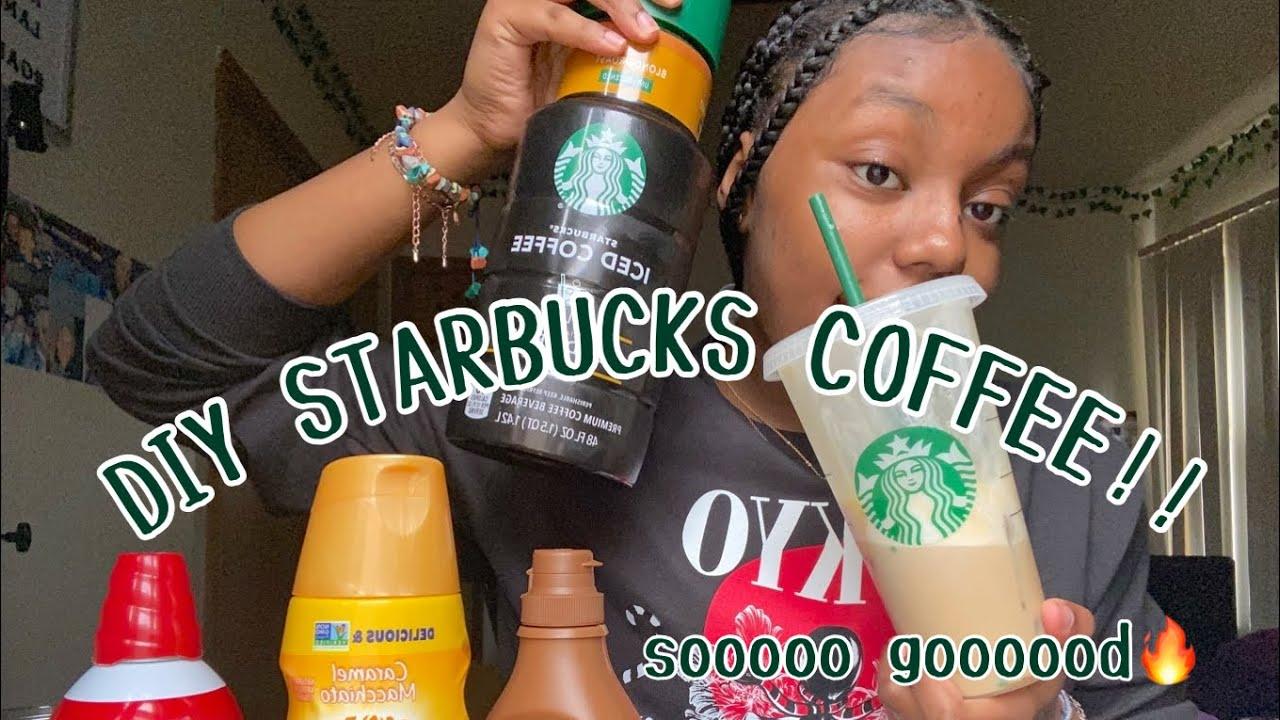 Download DIY STARBUCKS ICED COFFEE! ♡✨