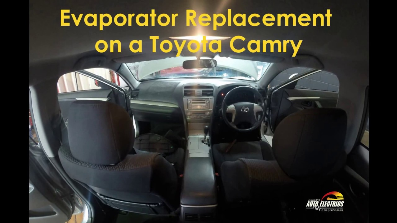 Toyota Camry: Air conditioning odors