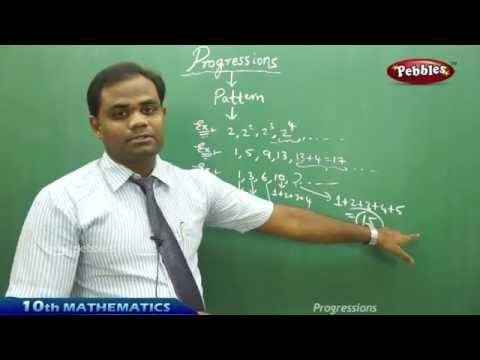 Progressions - AP & TS CLass 10th State Board Syllabus Mathematics
