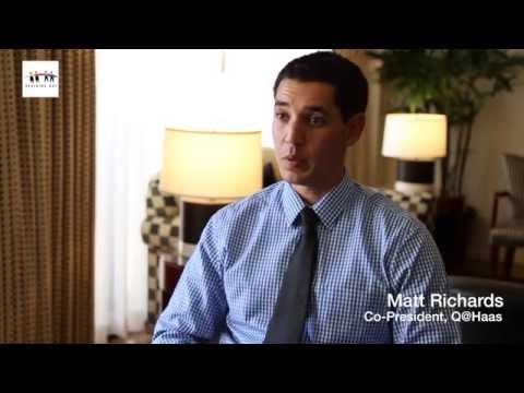 LGBTQ MBA Profile: Matt Richards of UC Berkeley Haas School of Business' Q@Haas