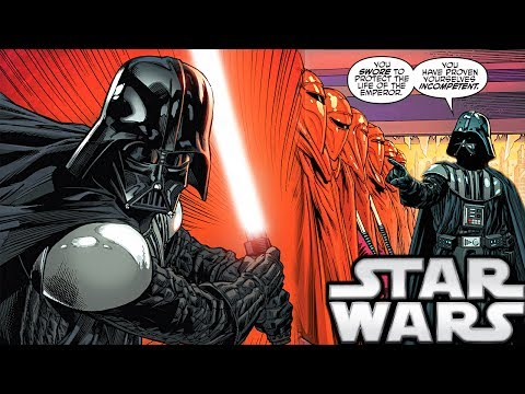 How Darth Vader Killed the Royal Red Guards - Star Wars Explained