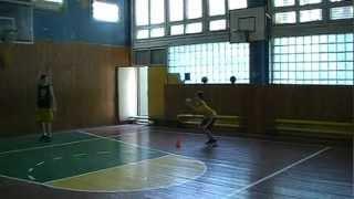 Как правильно выполнять Jab Step (баскетбольный финт)