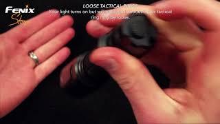 Fenix Flashlight Troubleshooting Video - Fenix Store