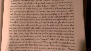 On The Road by Jack Kerouac - Most Famous Passage