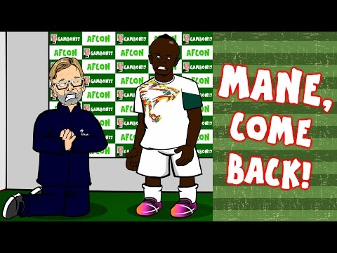 Thumbnail: 🙏MANE, COME BACK🙏 Klopp begs Sadio Mane to return from AFCON 2017! Liverpool vs Wolves 1-2