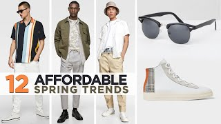 Top 12 AFFORDABLE Men's Style Trends Spring 2019