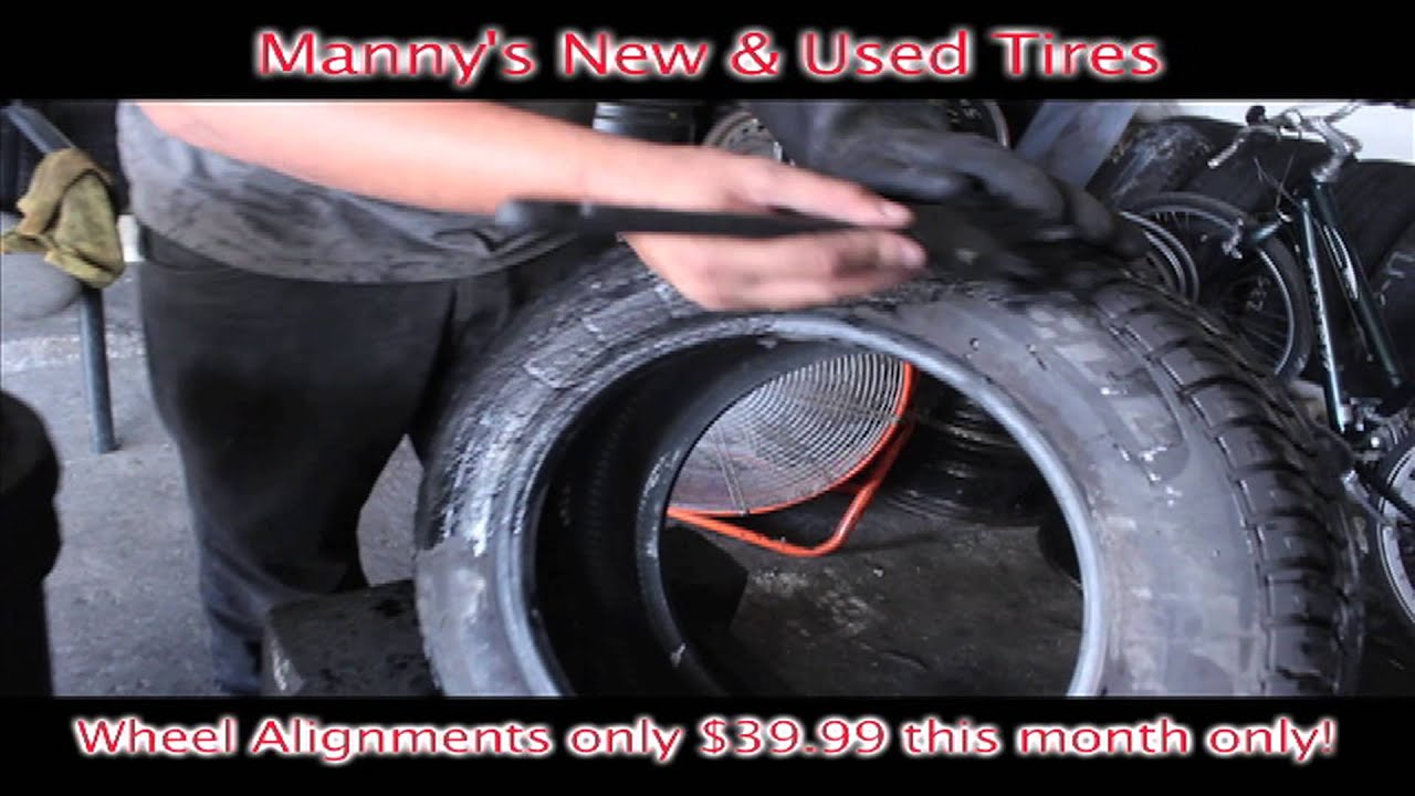 Used Tires Orlando >> Manny S New And Used Tires Wheel Alignment Located At 647 N Semoran Blvd Orlando Fl 32807