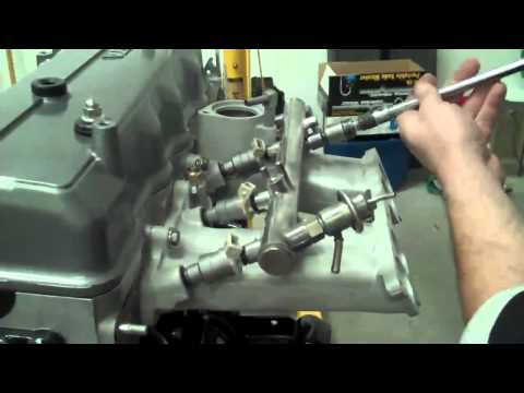 22RE Toyota injector installation - YouTube on