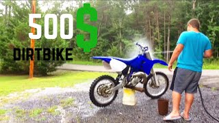 500$ Yz125 Dirtbike | Insane Cheap