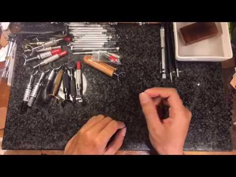 皮雕如何挑選適合的旋轉雕刻刀?皮雕旋轉刀分享About Leather Swivel ...