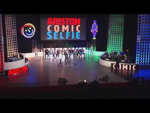 Ariston Comic Selfie 2019 - I finalisti sono arrivati a Sanremo