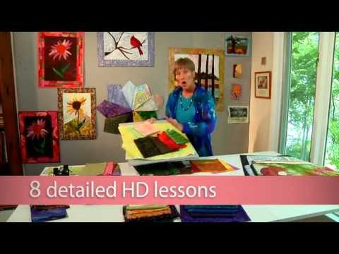 Art Quilting: Pictorial Techniques with Wendy Butler Berns on ... : pictorial quilt tutorial - Adamdwight.com