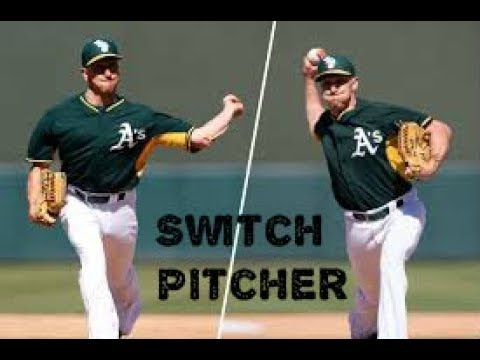 pat-venditte-switch-pitcher-career-highlights