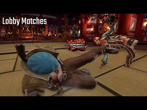 Twitch Streamer Fights Tekken 7 Rank Inflation    Season 2 Lobbies W/ Dragunov