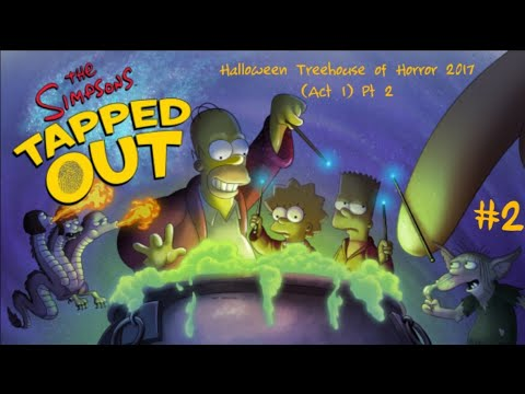 The Simpsons Tapped Out Halloween 2020 Act 2 The Simpsons: Tapped Out [217] Halloween Treehouse of Horror
