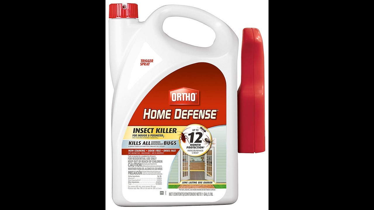 Ortho Home Defense Fleas And Ortho Home Defense Insect Killer