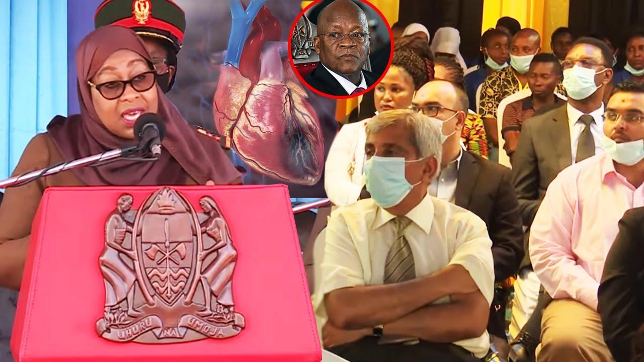 Samia Tatizo la Umeme wa Moyo, Amtaja Magufuli,Tulijuwa Ni Uchawi Ashukulu Ununuzi wa Mitambo