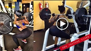 massiel arias fitness model full body workout dominican republic