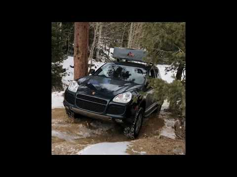 Lexus GX470, GX460, Porsche Cayenne Turbo, 4Runner offroad