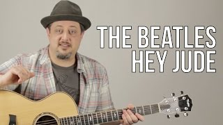 Hey Jude - The Beatles - Guitar Lesson - How to Play on Guitar