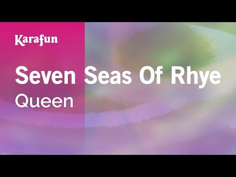 Karaoke Seven Seas Of Rhye - Queen *