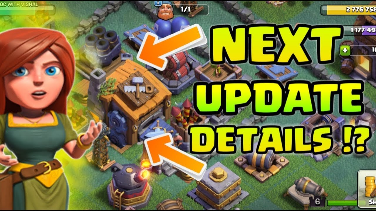 NEXT UPDATE DETAILS !? WHY BUILDER BASE DEAD !? CLASH OF CLANS