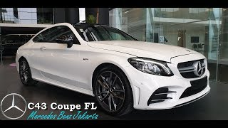 Mercedes-Amg C43 Coupe C Class Facelift 2019 Exterior / Interior