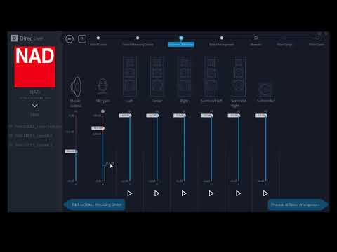 Dirac Live Video Tour, Ver 2 For NAD Products, Part 1 Of 3