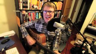 Repeat youtube video Let it Go - Acoustic Punk Cover - Hank Green