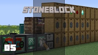 Stone Block Miner Dimension