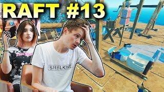 WIR RÄUMEN UNSERE BUDE AUF! | Raft #13 | Spielkind Gaming