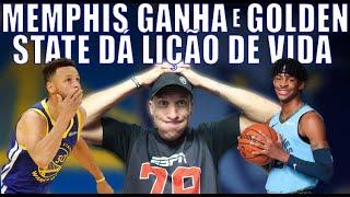 MEMPHIS GANHA e GOLDEN STATE DÁ LIÇÃO DE VIDA - RODADA NINJA NBA