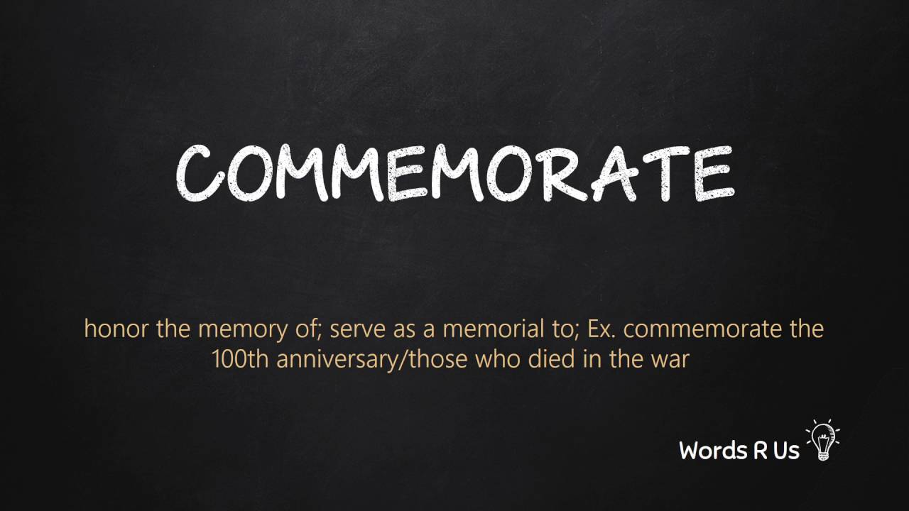 How to Pronounce COMMEMORATE in American English