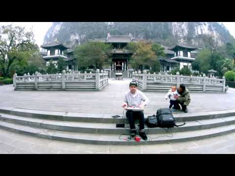 DJ Brace at Seven Star Park (Guilin, China)